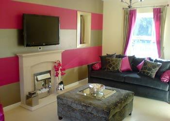 Crewe Show Home Decorators Mark Hazell Decoration